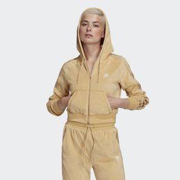 adidas Originals Crop Velour Γυναικεία Ζακέτα (9000071394_51077)