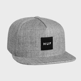 Huf BOX LOGO SNAPBACK GRY HTR (CORE) (3083210284_23990)