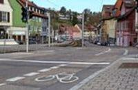 Böblinger Straße in Stuttgart-Kaltental: Verwirrung um Überholverbot von Fahrradfahrern