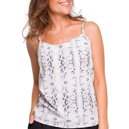 ALL DAY ΤΟΠ ME SNAKE PRINT - 336643
