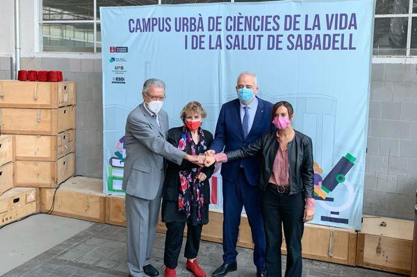 El Artèxtil se convertirá en sede del Campus Urbano de Ciencias de la Vida y de la Salud
