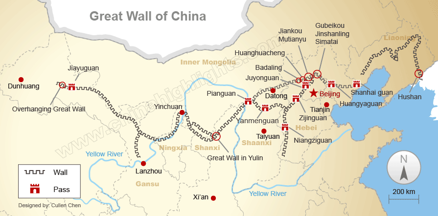 Great Wall Map