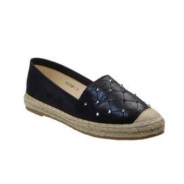 Tsimpolis Shoes A612 Εσπαντρίγια Απο Τεχνοδέρμα Μαύρη