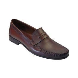 Tsimpolis Shoes 261 Ανδρικό Μοκασίνι Απο Γνήσιο Δέρμα Καφέ