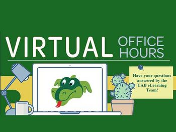 Introducing UAB eLearning Virtual Office Hours