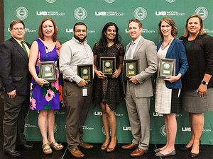 Two SOE graduates honored with UAB Young Alumni Rising Star Awards