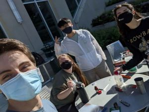 BME student teams place in top 3 at UAB Expo