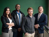 Three Engineering students receive NASA awards
