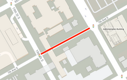 Portion of 7th Avenue South to be closed morning of Oct. 23