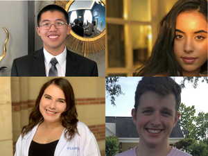 Honors College students selected to present original research on national platform, four students awarded