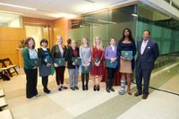 Women faculty recognized at promotion reception