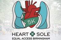 Join Equal Access Birmingham for the annual Heart + Sole 5K