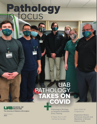 Department Publishes Pathology in Focus, Volume 3