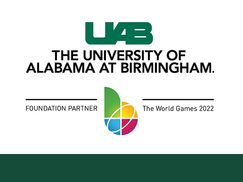 The World Games 2022 Announces University of Alabama at Birmingham as Official Venue and Partner