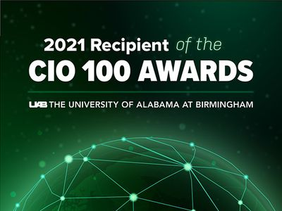 IDG's CIO 100 award recognizes UAB's excellence and innovation in IT