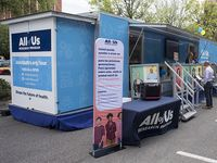 All of Us mobile enrollment event on UAB campus