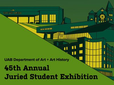 Art by UAB students presented in Annual Juried Student Exhibition