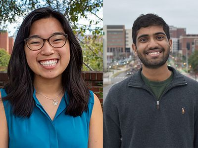 Two UAB students selected for prestigious Goldwater Scholarship