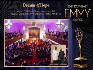 """""""Dreams of Hope"""" honored with two wins at 2021 Southeast EMMY Awards"""