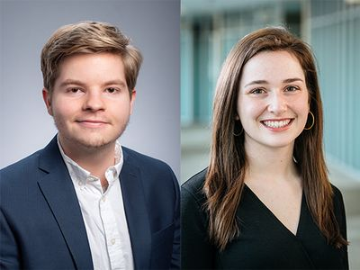 Two Honors College students selected as Truman Scholarships Award finalists