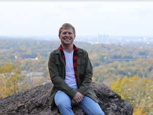 Analytical student to start becomes a Blazer at heart