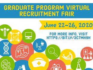 2020 Graduate Program Virtual Recruitment Fair is June 22-26