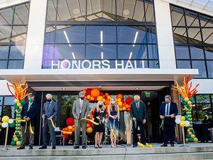 UAB celebrates ribbon-cutting of Honors Hall on Aug. 18