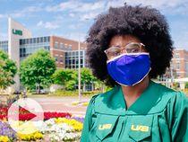 Recent UAB graduate Veronica Mixon has a passion for mental health advocacy