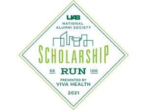 Raise money for student scholarships at UAB with virtual run April 23-26