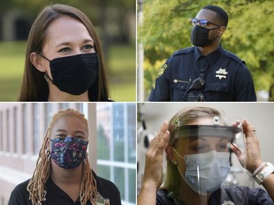 """""""We're all superheroes"""": UAB employees stand united in fight against COVID-19"""