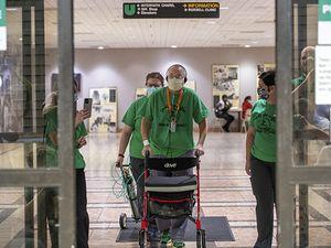 UAB's longest COVID patient goes home