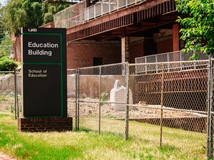 Education Building demolished to make way for Science and Engineering Complex