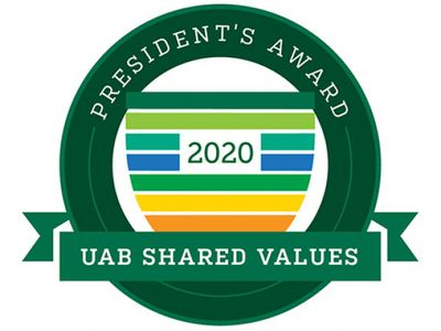 20 honored for elevating UAB's shared values