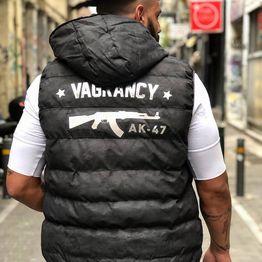 AK Gun Sleeveless Jacket