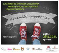 """Poziv na panel raspravu """"Suradnjom do aktivnijeg uključivanja srednjih škola u održivi razvoj lokalnih zajednica"""""""