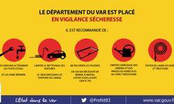Vigilance sécheresse dans le département du Var