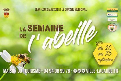Semaine de l'abeille