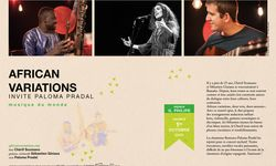 African Variations & Paloma Pradal
