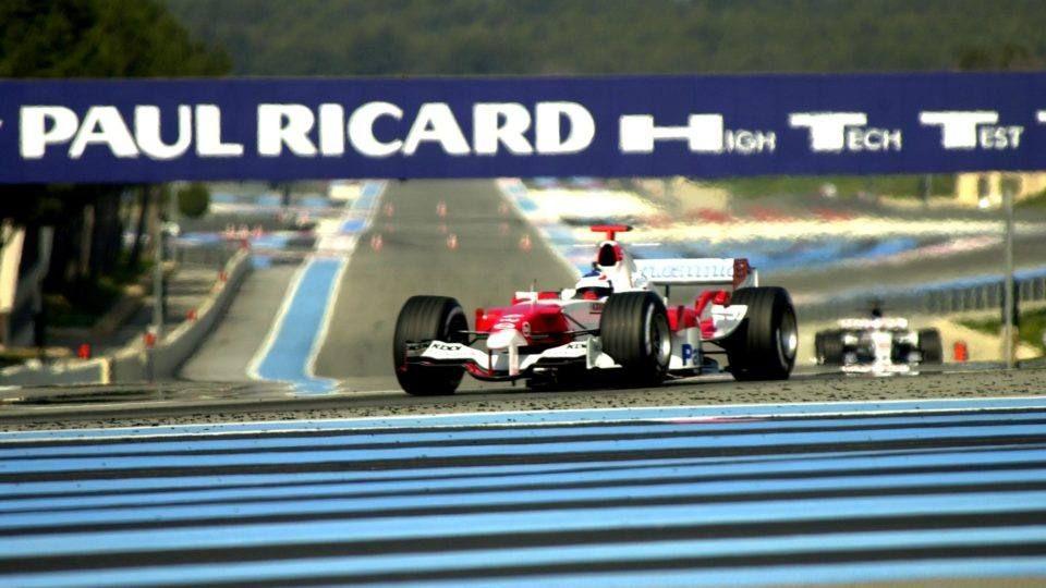 Le circuit Paul Ricard au Castellet