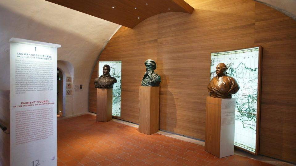 Intérieur du Musée d'Histoire Maritime