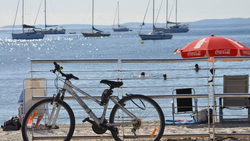 Balade en bord de mer à vélo
