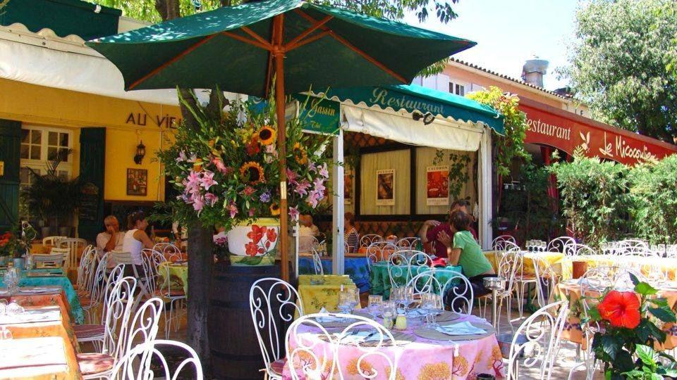 Restaurant à Gassin dans le Var