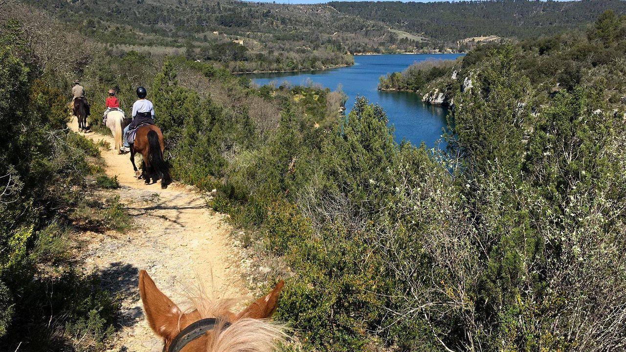 Balade à cheval autour des Gorges du Verdon