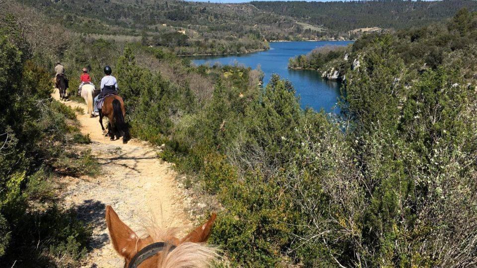 A cheval dans le Verdon