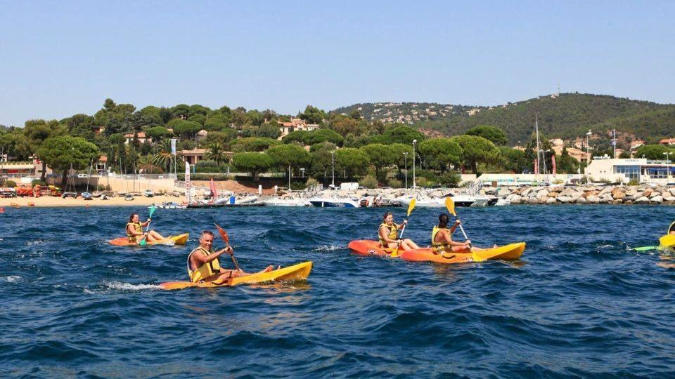 Kayak de mer aux Issambres