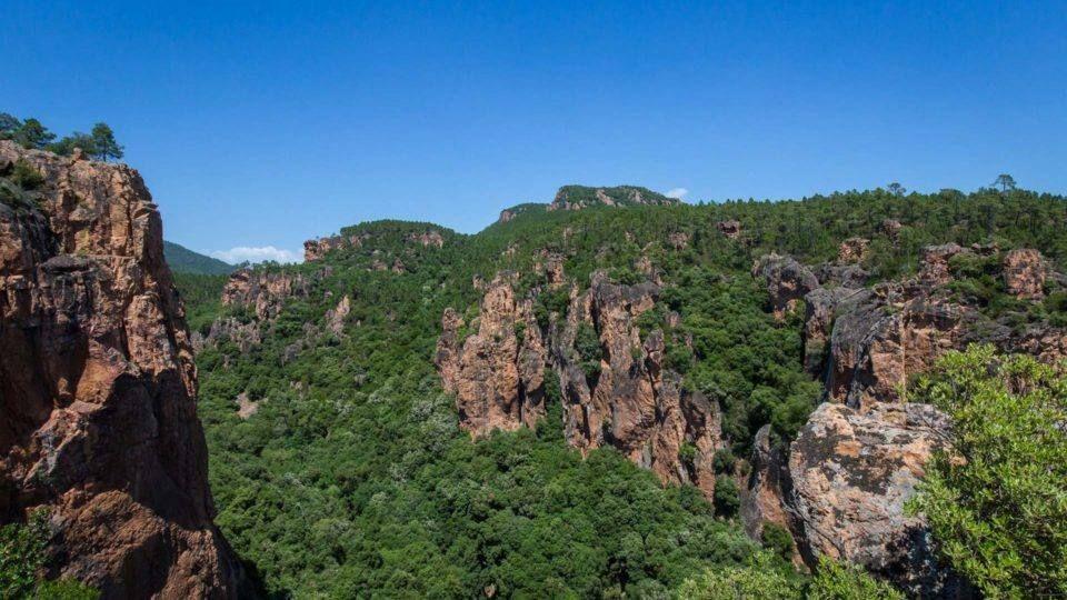 Les gorges du Blavet - Bagnols en Forêt