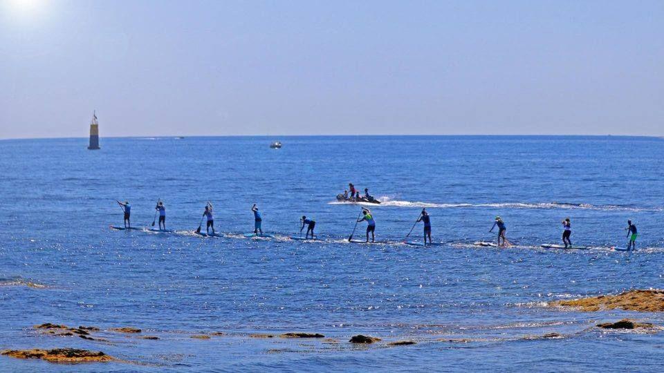 Sup Race Paddle à Sainte Maxime