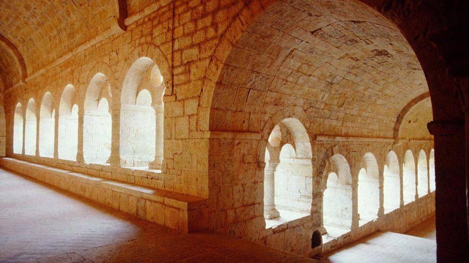 L'abbaye du Thoronet, le cloître