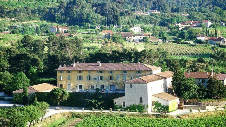 Domaine viticole au Castellet