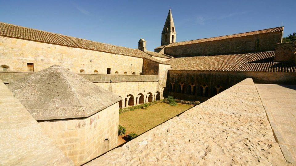 Vue de l'Abbaye du Thoronet